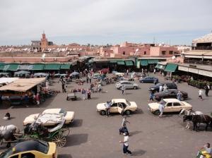 Taxis na Jamaa el Fna